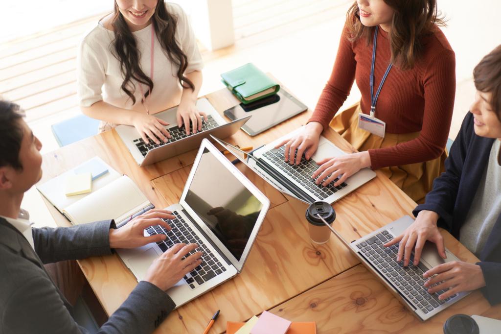 採用・スタッフ育成・生産性改善など会社運営を総合的にサポート